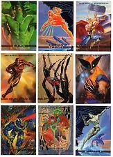 1993 SkyBox Marvel Masterpieces X-men Base Card You Pick Finish Your Set 1-90