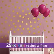 80 Polka Dots Wall Stickers Decals Spots Confettis Salon de beauté 0.75 - 2.5 in (environ 6.35 cm)