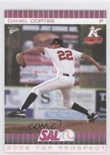 2006 MultiAd Sports South Atlantic League Top Prospects 9 Dan Cortes Rookie Card
