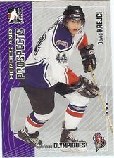 (37) DAVID KREJCI Gatineau Olympiques BOSTON BRUINS 2005-06 ITG LOT