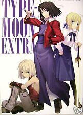 Type Moon promo booklet art data book Kara no Kyokai Fate/stay night CANAAN