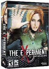 Video Game PC The Experiment secrets surveillance survival NEW SEALED BOX