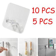 10pc Wall Storage Hook Power Plug Socket Holder Wall Adhesive Hanger Home Office