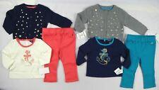 Nautica baby Girls' set, 3 pcs Cardigan Long Sleeve Tee & Knit Pant - 6,9 sizes