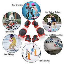 6PCs/Set Children Knee Elbow pads Sets Bicycle Skateboard Wrist Knee ProteRCUS