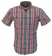 WARRIOR Ferdy 100% Cotone Manica Corta Camicie dalla s alla 5xlarge
