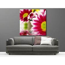 Tableaux toile déco carré fleur 16205083