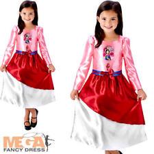 MULAN Ragazze Costume Disney Principessa Favola libro per bambini Costume