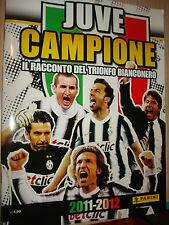 LIBRO BOOK IL RACCONTO DEL TRIONFO FC JUVENTUS CAMPIONE D'ITALIA 2012 PANINI NEW