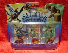 Drobot Flameslinger Stump Smash Skylanders Triple Pack A 3 Skylander Figuren OVP