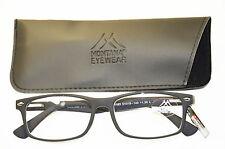 Ligera Unisex Gafas de lectura plástico negro Ayuda Para Leer Para Señores +1,0