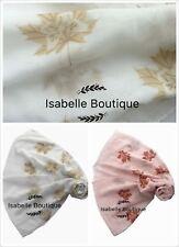 New Womens Maple Leaf Print Scarf Ladies Printed Scarves  Shawl Ladies Hijab