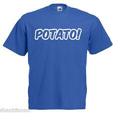Potato Keith Lemon Inspired Adults Mens T Shirt 12 Colours  Size S - 3XL