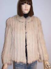 Norwegian Saga Arctic Fox Fur Coat Jacket, sz M