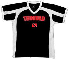 Republic of Trinidad and Tobago Port of Spain Flag Retro Sport T-shirt