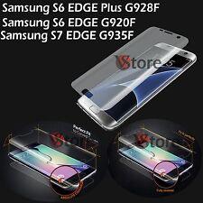 Pellicola Per Samsung Galaxy S6 S7 Edge Plus Copertura Completa Schermo Curvo