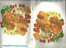 Your Freezer and You Vous et votre congelateur SC W.C. Wood Co. Ltd. SC 1974