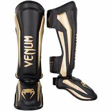 Venum Elite Stand Up MMA Shin Guards Instep Neon Kickboxing Muay Thai Shinguards