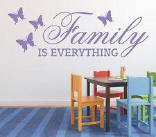 X286 Wandtattoo Spruch / Familiy Familie is everything Aufkleber Wandaufkleber 1