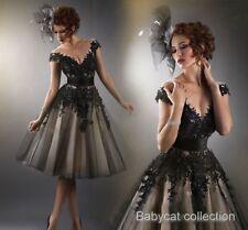 TOP Cocktailkleid Cocktail Kleid Abendkleid Ballkleid Clubwear Mini Spitze BC516