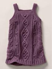 NWT New Baby Gap Stella McCartney Purple Sweater Dress 5T