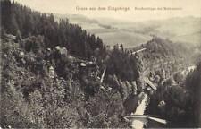 Gruss aus dem Erzgebirge-Brückenklippe bei Wolkenstein