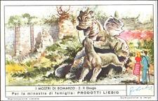 FIGURINA LIEBIG N. 2 - I MOSTRI DI BOMARZO - IL DRAGO - 1955