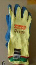 New Kevlar Rubber Palm Cut Resistant Gloves Fishing Hunting Animal cat dog 1 Pr.
