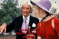 Amanda Lear - Exclusive Unpublished PHOTO Ref 261 Salvador Dali
