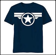 Captain America t shirt shield super winter soldier avengers marvel comics steve