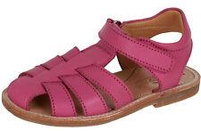 Zecchino d'Oro A31-3108 geschlossene Sandalen Mädchen Leder Klett pink 25-32 Neu