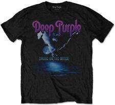 Deep Purple 'humo en el agua' T-Shirt-Nuevo Y Oficial!