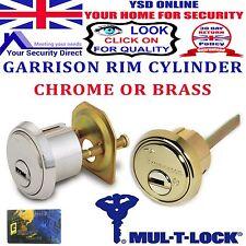 MUL-T-LOCK Garrison Quality 7 Pin High Security Rim Cylinder