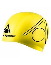 Aqua Sphere Tri Cap Senior Adulti Silicone visibile elegante fit nuoto Cap * vendita *