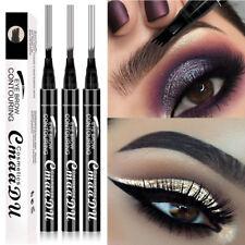 4 Head CmaaDu Liquid Eyebrow Pen Contouring/Definition Longlasting Waterproof