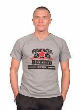 "T-Shirt TOP TEN ""Boxing"", 100% Baumwolle, Kickboxen, Muay Thai,"
