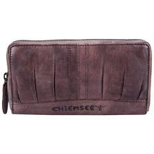 Chiemsee Shabby Chic Damen Reißverschluss Leder Geldbörse Portemonnaie 64050