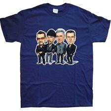 U2 T-SHIRT in 15 Colours NEW sizes S M L XL XXL rocktoons toons