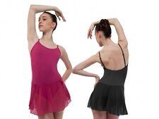 NWT Capezio Ballet dress Meryl skirted leotard 3 colors MC150 Camisole Adj strap
