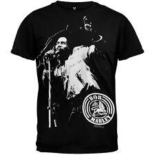 Bob Marley - Mic Adult Mens T-Shirt