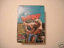1981 HERE'S BO (BO DEREK) WAX BOX (36 PACKS) FLEER