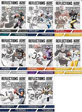 2017 Score Football Reflections Insert Singles (Pick Your Card) Prescott, Zeke+