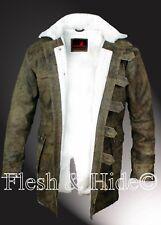 Batman The Dark Knight Rises Bane Faux Fur Lining Jacket Coat