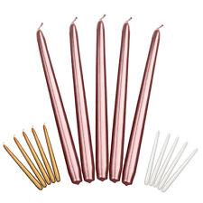 Leuchtkerzen Eika Kerzen Spitzkerzen Dunkel Blau 24,5 x 2,4 cm 50er Pack