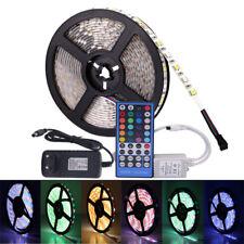5050 RGB LED Strip DC 12V 5M 300LED RGBW/WW LED Light Strip with +3A Power+Remot