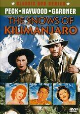 The Snows of Kilimanjaro (1952) (DVD, 2003)