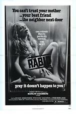 RABID poster MARILYN CHAMBERS/DAVID CRONENBERG original 1977 one sheet 27x41