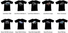 T-shirt con ROVER Automotive-FRUIT OF THE LOOM S M L XL 2xl 3xl