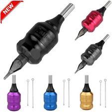 Adjustable 32mm Aluminum Needle Cartridge Tattoo Bar Grip Tube Shader Rotary