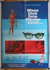 WENN DICH DEIN MÖRDER KÜSST (Kinoplakat '69) - PAUL BURKE / CAROL LYNLEY